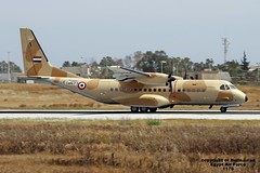 1178 LMML 21-04-2016 (Burmarrad) Tags: cn force aircraft air egypt airline airbus registration 1178 lmml c295m s147 21042016