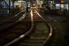 Interdependent line (turntable00000) Tags: japan night tokyo cityscape bokeh rail line nightview takashi trum ootsuka kitajima toshima bokehlicious extrabokeh