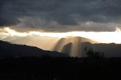 DSC_8782_2622. Thunderstorm on the Maritime Alps. Temporale sulle Alpi. (angelodaVerona) Tags: light sunset sky sun del lights al tramonto cloudy piemonte cielo valley di housing luci rays sole alpi piedmont luce raggi flashes valli delle alpesmaritimes nuvoloso abitazioni marittime sprazzi