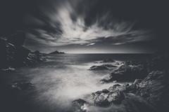 La pointe de la Parata (Maximecreative) Tags: longexposure blackandwhite lighthouse seascape monochrome clouds contrast islands daylight rocks horizon corsica dramatic wideangle motionblur sanguinaires parata ilessanguinaires leefilters bigstopper nd06hardgrad sw150