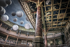 The world is a stage (Ludo_Jacobs) Tags: london globe theatre shakespeare hdr