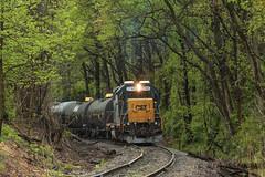 CSXT EMD GP38-2 #2746 @ Woodbourne, PA (Darryl Rule's Photography) Tags: train reading pennsylvania trains pa local freight buckscounty catenary csx yardley ln emd sd402 csxt woodbourne mixedfreight q418 c970 stonyhillrd woodbournerd