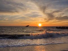 Sunset at Sunset Beach (jerome.burg) Tags: capemay sunset olympus omd em1