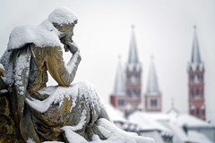 Winter (mattrkeyworth) Tags: winter germany dom walthervondervogelweide würzburgimwinter sonya7rii ilce7r2