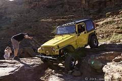 Hard Driver (W9JIM) Tags: yellow wow kevin jeep w9jim cliffhanger wrangler 1740l spotter