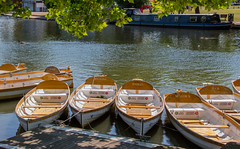 Shakespeare's Boats (bart7jw) Tags: canon river sigma shakespeare row tourist avon stratford 18250 700d t5i
