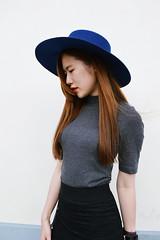 DSC_3754 (Likeabyul) Tags: china portrait paris france fashion french asian chinese style korean hm asiangirl asos frenchblogger fashionblog widebrimmedhat fashionblogger highnecktop stylenanda