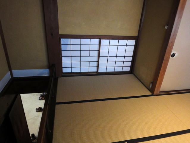 階段を上りきったところ。|吉島家住宅