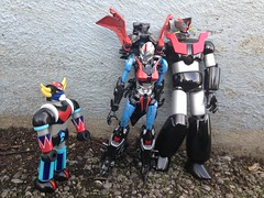 Arcee machinder family (sebastien.robo) Tags: great transformers z custom jumbo goldorak grendizer mazinger machinder arcee soulofchogokin アーシー