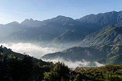 Clouds are coming (bambo_85) Tags: people mountains nature colors asia view vietnam ethnic sapa