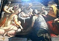 """""""The Virgin Mary's birth"""" by Sebastiano del Piombo (Venice 1485-Rome 1547) - Santa Maria del Popolo Church in Rome (* Karl *) Tags: italy rome virginmary sebastianodelpiombo"""