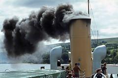 On board 'Maid of the Loch' . Jul'80. (David Christie 14) Tags: lochlomond maidoftheloch
