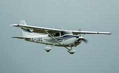 G-IJAG Cessna 182T Skylane of the AG group (David Russell UK) Tags: sport airplane airport aircraft aviation group aeroplane ag peterborough cessna 182 skylane conington egsf 182t gijag