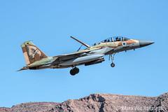 IAF F-15I Ra'am (Thunder) (mvonraesfeld) Tags: red plane airplane fighter eagle flag aircraft military 69 raam 154 airbase squadron afb hammers f15 mcdonnelldouglas 241 nellis iaf hatzerim img2297 israeliairforce lsv f15i militaryexercise klsv