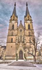 Admonter Mnster (Hyotenka) Tags: austria sterreich neogothic admont neugotisch stiftskircheadmont admontabbeychurch admontermnster