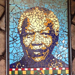 Madiba in Mosaic (Mr Baggins) Tags: square mosaic squareformat johannesburg mandela jozi iphoneography instagramapp uploaded:by=instagram