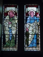 Jeremiah & Daniel (Aidan McRae Thomson) Tags: church window stainedglass cumbria brampton preraphaelite burnejones