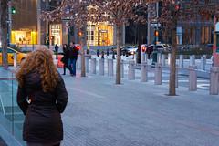 Small Girl, Big City (calum_o_d) Tags: city nyc newyorkcity newyork loss upload redhead groundzero citybreak