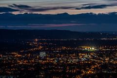 Spotlights - Cleeve Hill, Gloucestershire. (Jeremiah Huxley Productions) Tags: england gloucestershire cheltenham cleevehill