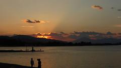 P1070289 (omirou56) Tags: sunset sea greece 169 aigio achaia panasoniclumixdmctz40