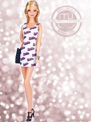 BARBIE 2 (marcelojacob) Tags: madrid show fashion mouth spain model doll closed close dress jacob barbie lips muse poppy blonde mackie marcelo basics royalty parker basic 2015 nuface