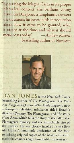 Dan Jones book fan photo
