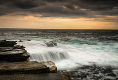 Flow On Effect (Crouchy69) Tags: ocean sea sky seascape motion beach water pool clouds sunrise landscape flow dawn coast rocks waves sydney australia maroubra mahon