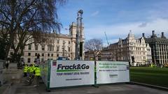 Frack & Go in Parliament Square #frackminster (Julie Ramsden) Tags: westminster greenpeace parliamentsquare fracking frackgo frackminster