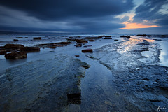Long Reef Thunderstorm (FPL_2015) Tags: ocean sunset seascape water landscape rocks sydney australia thunderstorm lowtide longreef northernbeaches canon6d leegnd09 haidand18 canon1635f4lis