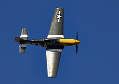 P-51 Mustang (Bernie Condon) Tags: plane vintage flying fighter aircraft aviation military ww2 preserved mustang warplane p51 usaaf
