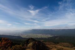 Aso 004 (Adolf Scirooco Kevin Zabi Murasame Muller Chung) Tags: autumn mountain nature japan sunny bluesky  aso  kyushu