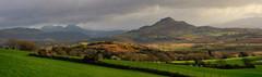 North Wales near Porthmadog. (alex.vangroningen) Tags: trees panorama colors clouds fence northwales nikon55200mm nikond7000