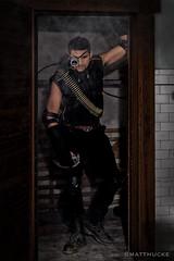 Mercenary (matthucke) Tags: seattle blue scifi steampunk mercenary