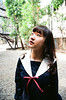 42380010 (WANGYANZHI) Tags: people cute art girl canon iso100 kodak taiwan 100 eos5 名古屋 台湾 制服 写真 ektar かわいい ximen 24mm105mm sgima 水手服 ユニフォーム ektar100 輕寫真 少女写真