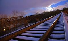 DSC_8646 (FirehawkNS) Tags: bridge snow river nc traintracks tracks northcarolina fullmoon moonrise snowday trainbridge moonshine movingclouds mountholly moonandclouds catawbariver gastoncounty winterinnc