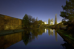 The Top Lock, Birchills, Walsall 07/11/2016 (Gary S. Crutchley) Tags: street uk travel england urban black west heritage history night dark ed evening town canal nikon long exposure raw branch slow nightscape shot nightshot image time britain lock top united country great kingdom s shutter mission after local nightphoto af nikkor townscape staffordshire westmidlands walsall midlands d800 blackcountry staffs 1635mm nightimage nightphotograph f40g birchills boatmans walsallweb walsallflickr