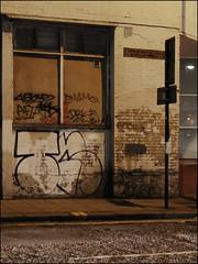 Tn (Alex Ellison) Tags: urban night graffiti tn boobs kc graff eastlondon throwup roten throwie