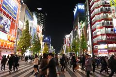 P1020031.jpg (Ryosuke Yagi) Tags: building night buildings tokyo town crossing view shot nightshot scene electronics  akihabara nightscene nightview electronic     electronictown