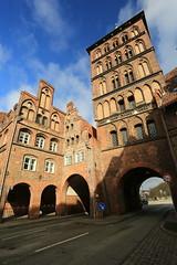 City gate (bennychun) Tags: ice church germany gate europe gothic queen tor hbf lubeck league burg holstentor deutsche hanseatic