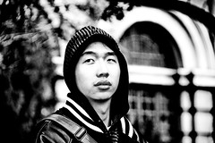 (johey24) Tags: china street people bw men raw dof chinese handsome depthoffield macau zhuhai beautifulmen handsomemen candis blackadwhite chinesemen