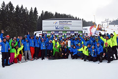 Siegerehrung FIS Snowboard World Cup Winterberg 2016