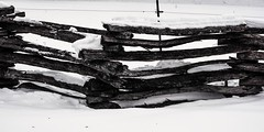 HFF (SaltyDogPhoto) Tags: wood winter snow weather fence photography nikon pennsylvania logs pa nikkor stacked snowcovered photooftheday hff nikonphotography nikkorafs1855 nikond7200 saltydogphoto