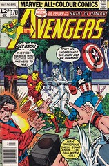The Avengers 170 (micky the pixel) Tags: comics comic ironman marvel captainamerica heft georgeperez theavengers wonderman