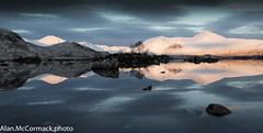 Reflections of the Blackmount (Alan McCormack) Tags: winter scotland highlands na h glencoe rannochmoor lochan blackmount achlaise landscapelochs