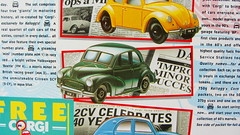 Kellogg's Corn Flakes Promotion Pack Motoring Marvels Of The Sixties Four Corgi Toys Die-Cast Models And Paper Models Of Shops And BP Filling Station 1990s - 8 Of 66 (Kelvin64) Tags: station promotion paper toys four corgi corn models pack shops and bp flakes kelloggs sixties 1990s filling diecast the motoring marvels of