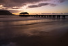 Hanalei Pier Twilight (MichellePhotos2) Tags: ocean beach water hawaii golden coast pier twilight nikon waves pacific northshore kauai hanaleipier 20mm hanalei goldenhour d800e nikond800e