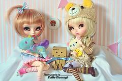 Sweeties... (Yuffie Kisaragi) Tags: doll dolls pullip custom blanche pullips poisongirl customs kimmi vainilla obitsu rewigged rechipped obitsus yuzuchan miokit