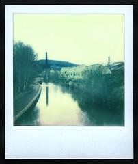 My Year in Film 36/366 (Squatbetty) Tags: mill film polaroid expiredfilm bingley leedsliverpoolcanal britanniabridge impossiblefilm polaroidsupercolour600