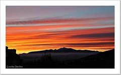 Nubes de fuego (Lourdes S.C.) Tags: espaa contraluz andaluca paisaje amanecer cielo nubes jan nwn provinciadejan