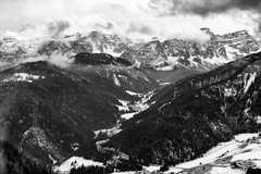 Val Badia (leosagnotti) Tags: italy panorama mountains dolomiti piccolino gadertal piculin
